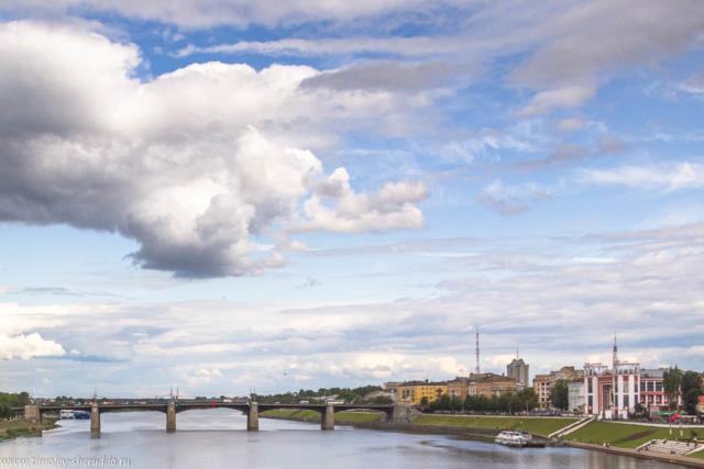 Тверь. Мост через Волгу