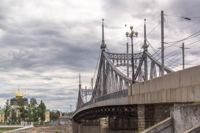 Тверь. Старый мост