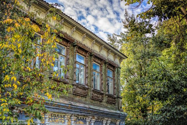 Вокололамск. Старый дом