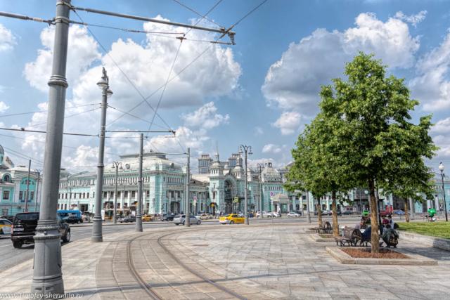 На площади Тверской заставы