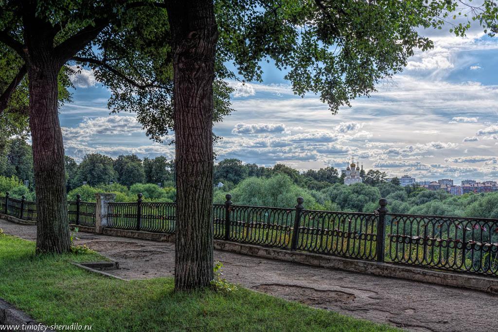 Рязанский кремль: вид на Трубеж