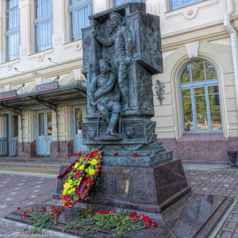 Петербург. Памятник героям Великой Войны