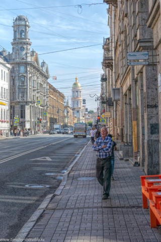Петербург. У Пяти углов