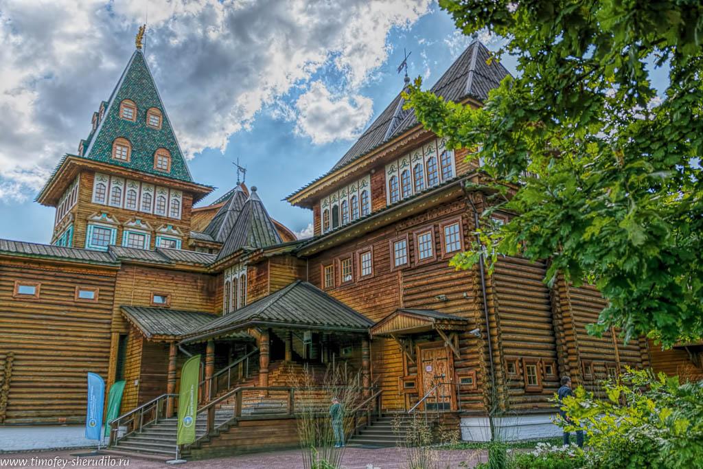 Коломенское. Деревянный дворец